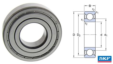 Bearing Skf 6305 Zz 608 2z skf shielded groove bearing 8x22x7mm skf