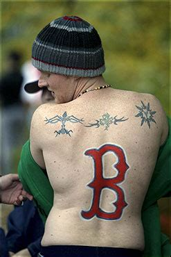 boston b tattoo images and places pictures and info boston sox tattoos