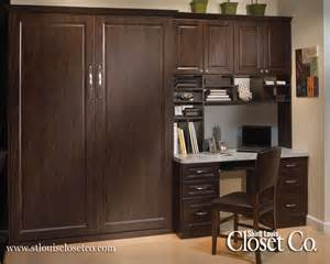 Murphy Bed In Closet St Louis Murphy Beds Wall Beds Louis Closet Co