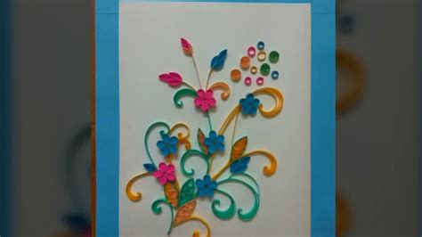 Youtube Tutorial Ideas | smartness quilling wall art with ideas paper diy 32 easy