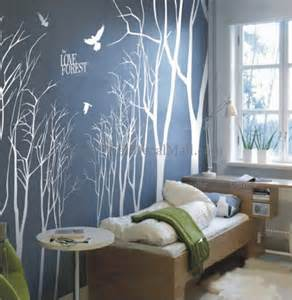 love forest branches tree wall decals walldecalmall com forest deer tree wall sticker qo82 78 00 wall
