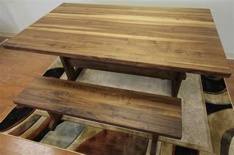 butcher block trestle table 17 best images about handcrafted butcher block tables on