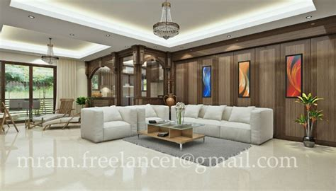 home interior design of hall living room hall interior design by ramachandran