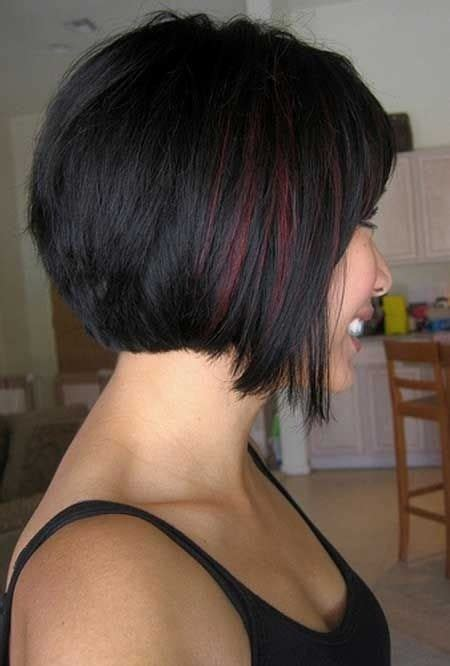 bob haircuts for thick hair short stacked haircuts for thick hair images