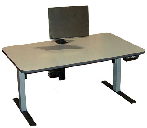 Adjustable Computer Desk Infinity Station Electrrically Adjustable Affordable Ergonomic Computer Workstation Solutions