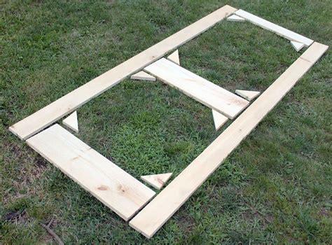 build  diy screen door  scrap wood diy