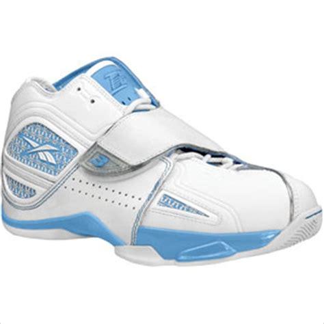 allen iverson reebok answer 11 white carolina blue shoes