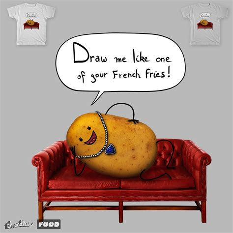 couch potsto score couch potato by mantichore on threadless