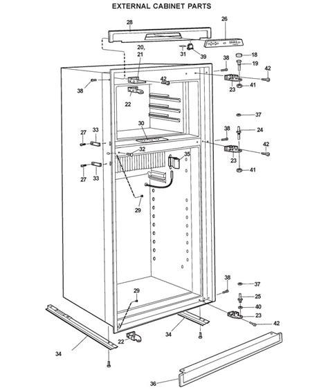 refrigerator diagram refrigerator parts dometic refrigerator parts rm2852