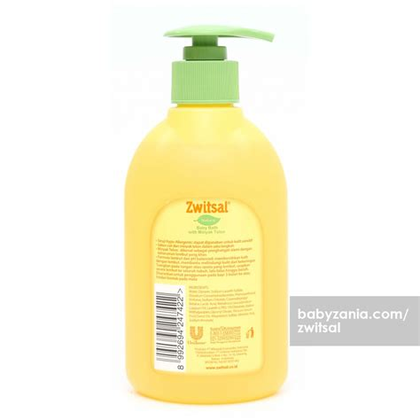 Baby Bath With Telon 300ml jual murah zwitsal baby bath with minyak telon
