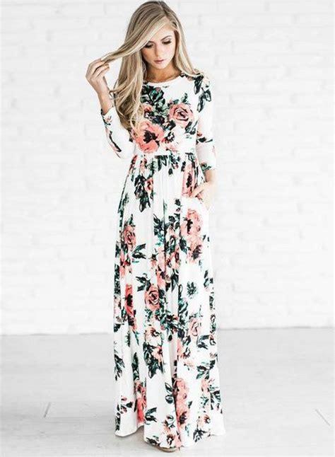 floral sleeve maxi dress novashe