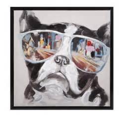 shades dog canvas