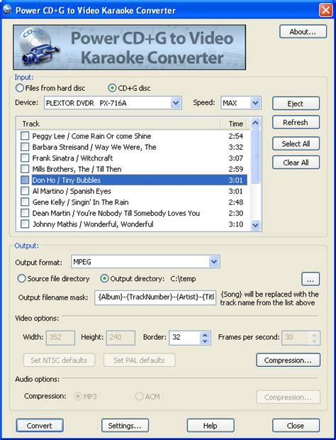 download converter mp3 to karaoke free download cd g player