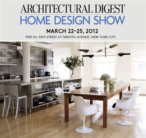 architectural digest home design show new york city featured event architectural digest home design show