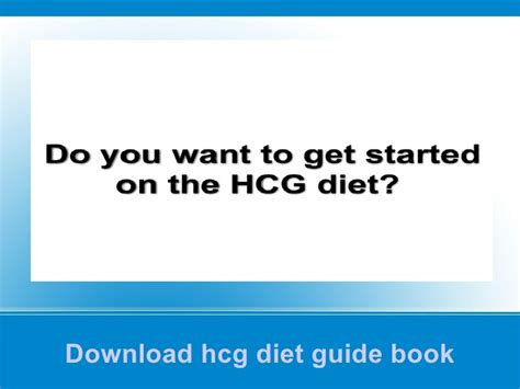 Pdf Hcg Injections Diet Start Guide hcg diet guide book pdf free complete hcg diet