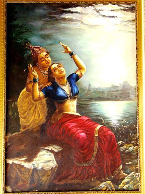 free painting no buy painting radha krishna in moonlight artwork no