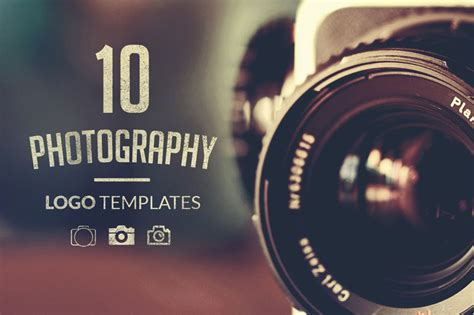 Photography Logo Template sale get 14 photoshop actions themes logos patterns more for photographers