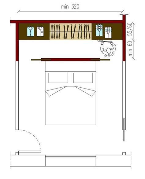 cabina armadio misure minime oltre 1000 idee su armadio per da letto su