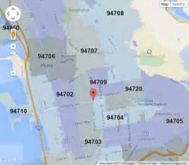 Oakland Ca Zip Code Map by Zip Code Map