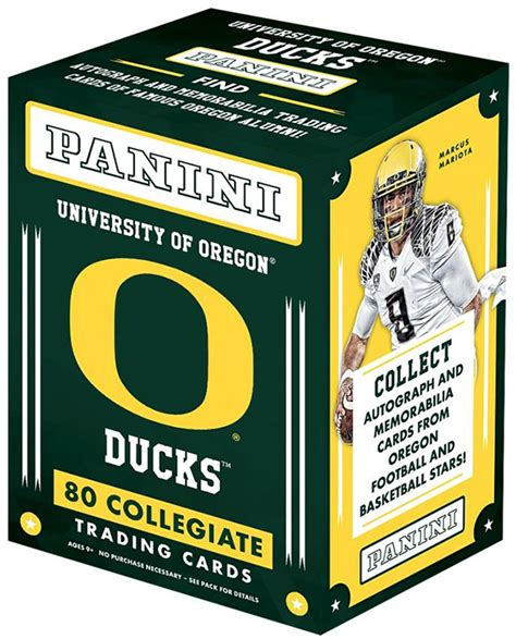 University Of Oregon Gift Card - 2015 panini university of oregon trading cards first look beckett news