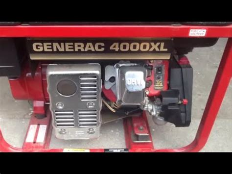 generac 4000xl generator, review & operation youtube