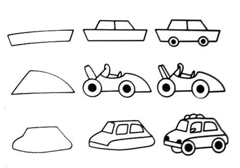 how to draw a car 8 steps with pictures wikihow free coloring pages step by step teach you how to draw