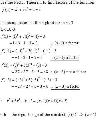 The Remainder Theorem Worksheet by Polynomials Advanced Algebra From A Level Maths Tutor