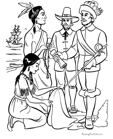 coloring pages for the first thanksgiving first thanksgiving story coloring pictures 015