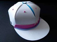 How To Make A Flat Brimmed Paper Hat - tutorial on how to make a flat brimmed paper hat new era