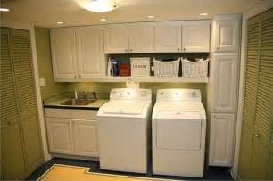 Laundry Room Sink With Cabinet Model Home Interiors Laundry Room Cabinet And Sink