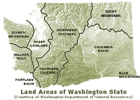 5 themes of geography washington state washington the evergreen state chapter 1 regions and