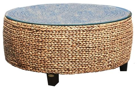 woven coffee table style coffee tables by