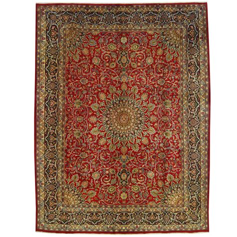 9 x 10 rug knotted mashad wool rug 9 9 x 12 10 herat rugs