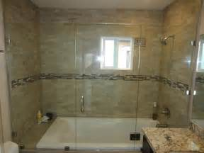 Shower Bathtub Doors Sliding Shower Door Alternative Patriot Glass And Mirror San Diego Ca