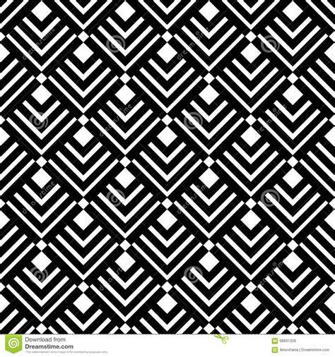 black triangle pattern vector geometric white black triangles pattern stock vector