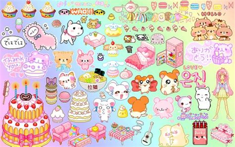 imagenes kawaii para escritorio kawaii wallpaper background fondo de pantalla by kaxaful