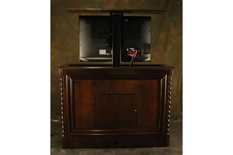 Flat Screen Lift Cabinet by Vineyard Flat Screen Tv Lift Cabinet Tv Lift System
