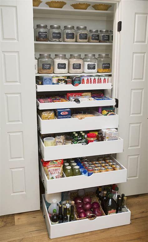 Shelfgenie Pantry by Shelfgenie Pull Out Shelves Will Neatly Organize All Of