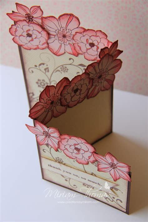 How To Make Paper Flowers For Cards - paper flowers creations by miriam