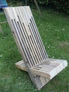 fabriquer une chaise 224 palabre en palette david mercereau