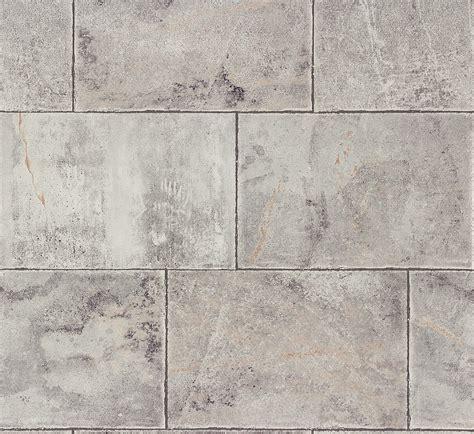 Tapete Vlies Fliesen Grau Rasch Home Style 461503