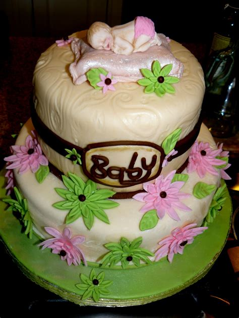 the woodlands cake boutique baby girl baby shower cake