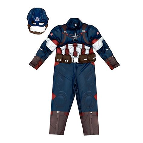 marvel the avengers captain america kostüm für kinder
