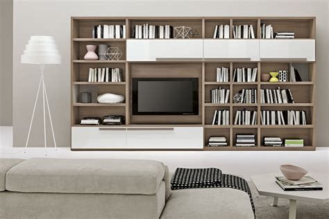 Living Room Book Shelf by Living Room Bookshelves 46 Interior Design Ideas