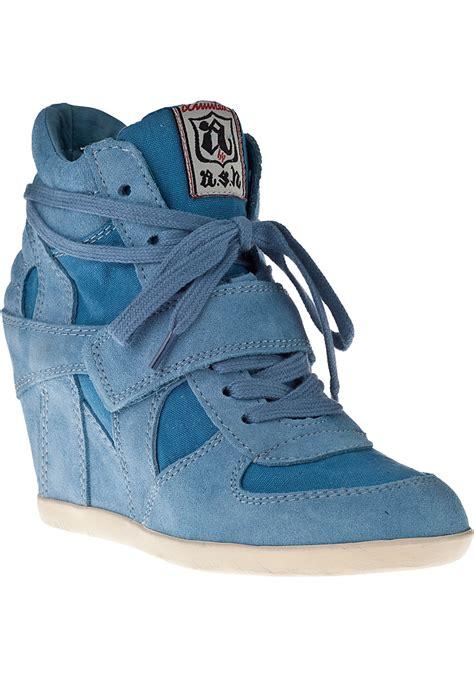 Sneaker Wedges Ash Denim s statement sneakers stellabegonias