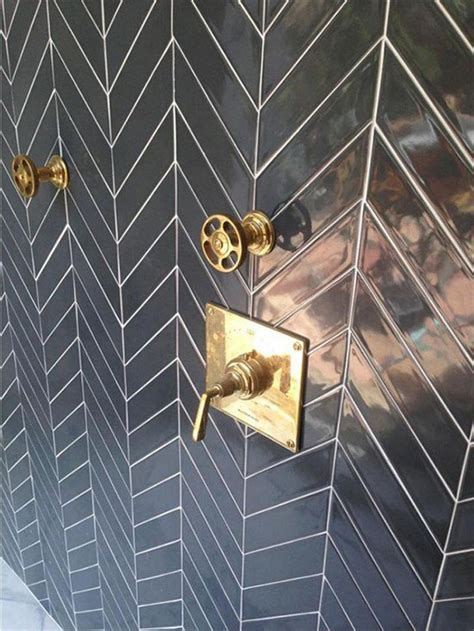 black and silver bathroom tiles 2016 bathroom trends go bold for the new year style at home