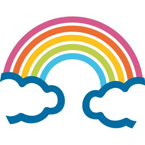 emoji rainbow rainbow emoji transparent png stickpng