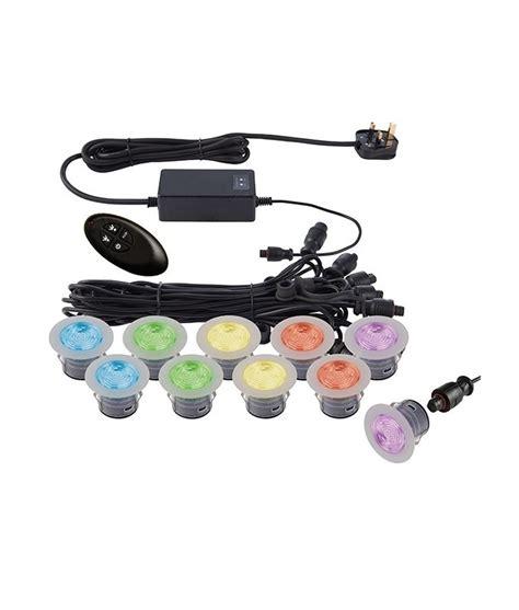 Colour Changing Ten Light Led Kit 3 Sizes Colour Changing Led Light Kit
