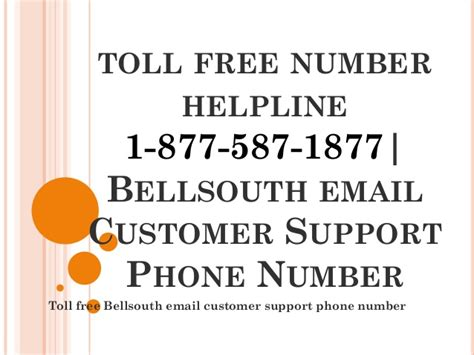 Bellsouth Phone Number Lookup Toll Free 1 877 587 1877 Bellsouth Email Customer Service Phone Number