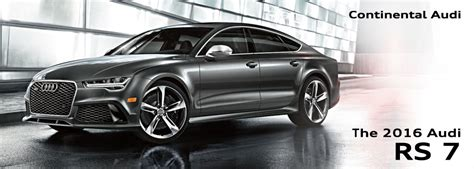 audi rs7 features 2016 audi rs7 model features information chicago car sales